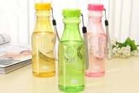 Botol Minum Unik BPA Free Anti tumpah - Ungu