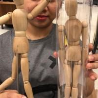 boneka kayu ikea/mainan anak/mainaan edukasi/pajangan/jastip ikea