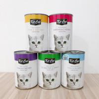 Makanan kucing basah kaleng - Kit Cat 400gr