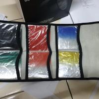 Filter cokin(kotak) 2pcs filter ND,3pcs filter colour + holder + Ring