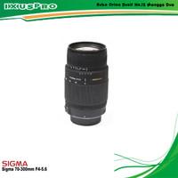 Lensa Sigma 70-300mm F/4-5.6 DG Macro Lens For Canon / Nikon