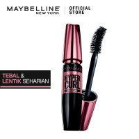 Maybelline Volum Express Hyper Curl Mascara Waterproof - Black