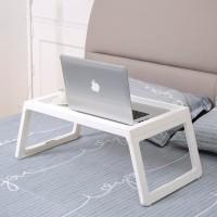 Meja belajar Nampan bed Meja laptop ( bukan produk ikea klipsk bed )