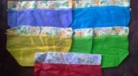 TAS SPUNBOND SERUT TIPIS 20X20 Souvenir Goodie Bag Pernikahan Murah