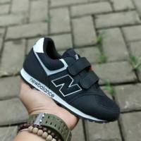 Sepatu anak laki laki perempuan-sepatu sekolah anak-hitam