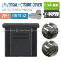 Universal Hot Shoe Cover Cap for Canon / Nikon / Sony / Pentax / Etc