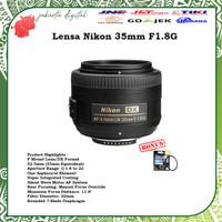 Jakarta Digital LENSA NIKON 35MM F 1.8 G AF-S DX NIKKOR 35 MM F/1.8G