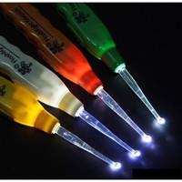 Alat Pembersih Telinga / Flashlight Earpick Led /Korek Kuping Led