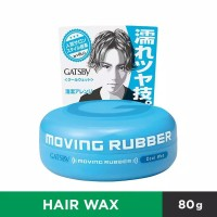 GATSBY Moving Rubber Cool Wet / Biru Made in Japan 80gr