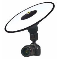 Collapsible Ring Softbox Flash Diffuser 42cm for Speedlite Camera DSLR