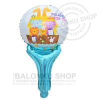 Balon Foil Tongkat Animal / Balon Pentung Animal / Balon Pentung Hewan
