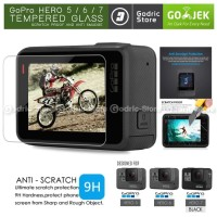 GoPro Hero 7 Black LCD Tempered Glass Screen Protector Anti Gores