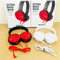 HEADPHONE MDR-XB450 EXTRA BASS BANDO HEADSET GAMING HANDSFREE