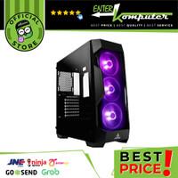 Antec DF500RGB - Side Tempered Glass - FREE 3PCS ANTEC RGB FAN