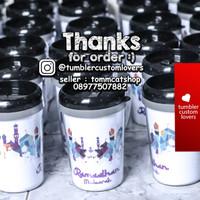 Tumbler mug botol minum custom / your design