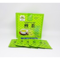 TEH HIJAU GREEN TEA JEPANG / OSK JAPANESE GREEN TEA HARGA PER SACHET
