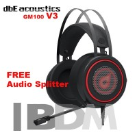 dbE Acoustics GM100 Gaming Headphone