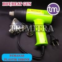 Heat / Hot Gun Pemanas Plastik Shrink Segel Kemasan Sellery Original