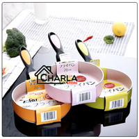 Pengorengan anti lengket keramik Anti Lengket Fry Pan Lapisan Ceramic