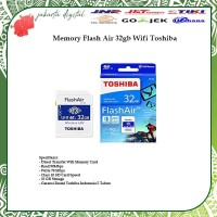 TOSHIBA FLASH AIR 32GB SD CARD WIFI WIRELESS MEMORY KAMERA 32GB ORI