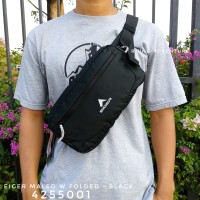 Tas Selempang Pinggang Eiger Maleo W Folded Waist Bag 4255001 Original