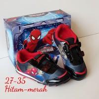 sepatu spiderman #sepatu anak laki-laki #sepatu sekolah