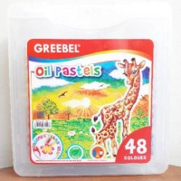 Greebel Oil Pastels Crayon 48 Warna