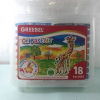 Greebel Oil Pastels Crayon 18 Warna