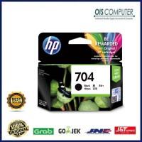 Tinta HP 704 Black Original . tinta printer HP ori printer 2010 2060