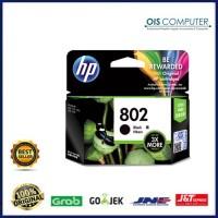 Tinta HP 802 XL Black 3x More Pages Original , tinta printer HP ori
