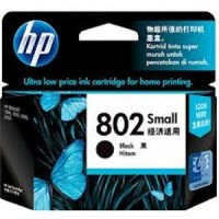 Tinta HP 802 Small Black Original , tinta printer HP ori