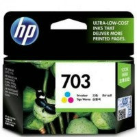 TINTA HP 703 COLOUR ORIGINAL . Tinta Printer HP CD888AA