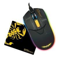 Armaggeddon Gaming Mouse Scorpion 7 -RGB Mouse- Free Mousepad