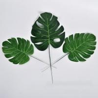 Daun Monstera Imitasi 30cm Kecil Philodendron Tropical Leaf Artificial
