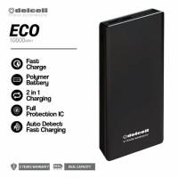 Delcell Eco 10000 mAh Powerbank Real Capacity Original Garansi Resmi