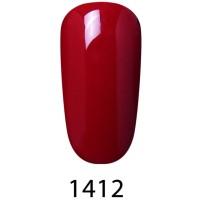 10 ml RED gel polish kutek uv led cat kuku elite99 nail art 1412
