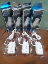 Charger vivo bolt 3.5A fast charging 1usb with kabel micro nyambung