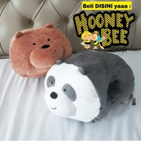 Japan Quality Miniso - Bantal Boneka Panda Pan Pan We Bare Bear Import