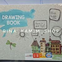 Buku gambar A3 Sidu/drawing book/buku gambar besar anak SMP SMA