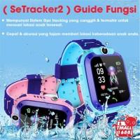 Q12 Jam Tangan anak Children SmartWatch GPS LBS Anti-lost SOS Calling