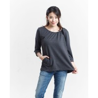 Miyoshi Jeans MY17Bl005WT Blouse Sleves