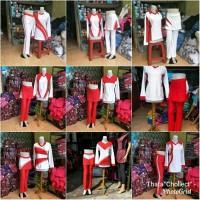 merdeka merah putih kemerdekaan celana rok panjang baju erobic senam