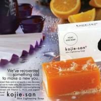 Kojie San Soap 65gr Original Orange ~ Sabun Pemutih Kulit