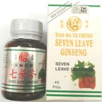 seven leave ginseng - obat nyeri sendi - asam urat - pegel linu dll