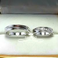 cincin kawin paladium p3579