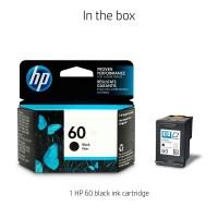 Tinta Printer hp 60 Black Original resmi