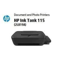Printer HP Ink Tank 115 ( PRINT ONLY 4 Warna ) Garansi resmi