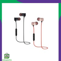 Magnetic Wireless smart sports stereo earphone sport magnetic
