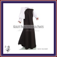 Terlaris Rok Celana Wanita Panjang Kulot Lebar Palazzo Pants Fariza