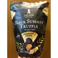 Aroma Truffle Parmesan Cheese Black Summer Potato Chips Rasa Keju